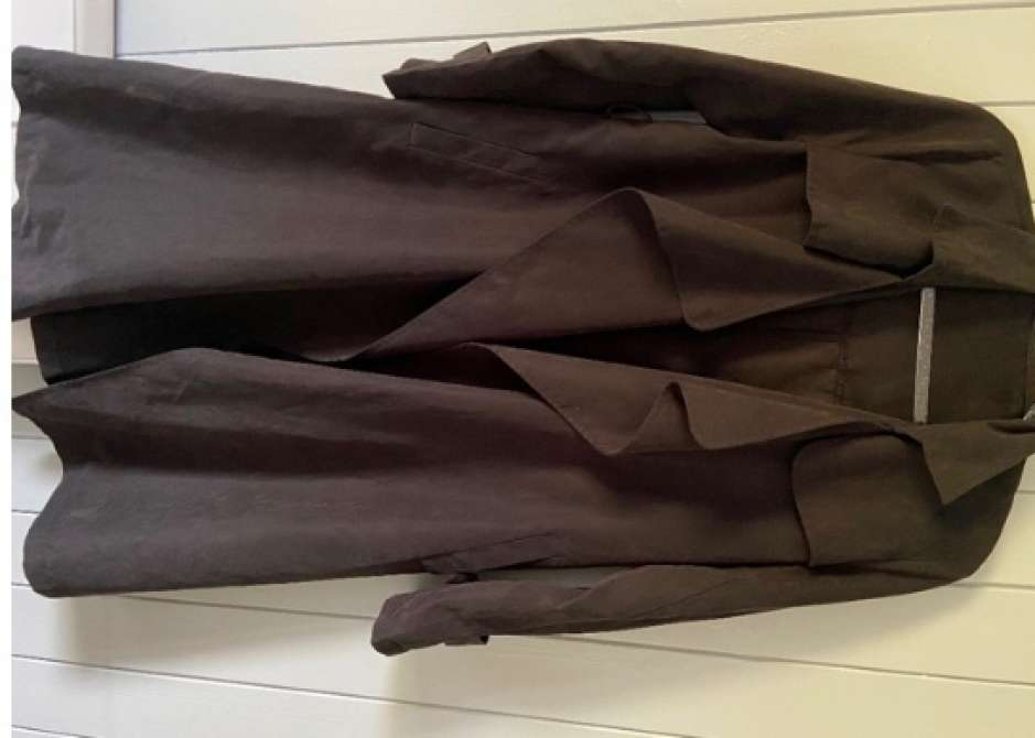 Manteau Noir Mi long